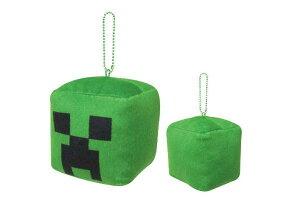 【Minecraft】【マインクラフト】キューブボールチェーンマスコット【クリーパー】【マイクラ】【ブロック】【ゲーム】【ビデオゲーム】【キーホルダー】【キーリング】【鍵】【マスコッ