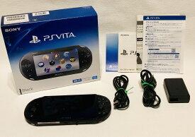 【中古品美品♪】PlayStation Vita Wi-Fiモデル ブラック (PCH-2000ZA11)【送料無料】◆内容:本体、ACアダプター、ケーブル、USBケーブル、印刷物3種類の完品です♪◆詳しくは詳細をご覧下さいませ。