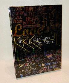 【中古品】KinKi Kids Concert 2013-2014 「L」 (初回盤) [Blu-ray]【送料無料】◆盤面良好♪再生作動確認済み◆【商品内容】DISK、ブックレット、リーフレット、ディスクケース、スリーブケースです。
