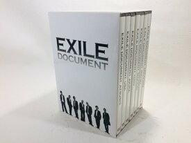 【中古品】Exile Document Box[DVD]【送料無料】出演: EXILE◆盤面良好♪再生作動確認済み◆【商品内容】収納BOX/ディスクケース7枚/本編ディスク7枚