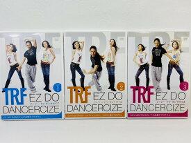 【中古品】TRF イージー・ドゥ・ダンササイズ EZ DO DANCERCIZE TRF-WS01【正規品】[DVD]【送料無料】エクササイズ、ダイエットDVD◆盤面良好♪再生作動確認済み◆【商品内容】DISK3枚、ディスクケース3冊です。