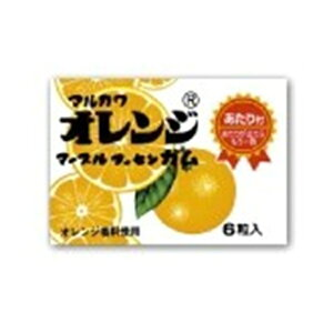 オレンジマーブルガム 36入【駄菓子 通販 おやつ 子供会 景品 お祭り くじ引き 縁日】