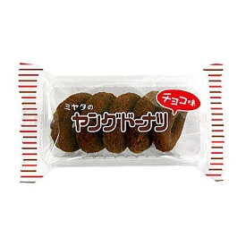 ヤングドーナツチョコ味 10入【駄菓子 通販 おやつ 子供会 景品 お祭り くじ引き 縁日】