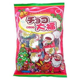 クリスマスチョコ大福 30入【駄菓子 通販 おやつ 子供会 景品 お祭り くじ引き 縁日】