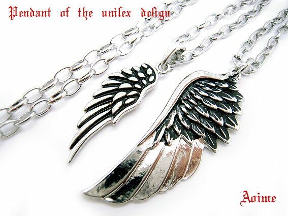 天使の羽根 フェザー 羽根 チェーン ネックレス  4-7734