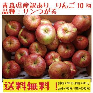 セール!青森県産 サンつがる 訳あり 30-50玉 10kg 送料無料