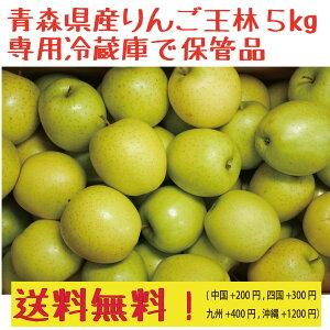 青森県産 専用冷蔵庫で保管品 家庭用 りんご王林5kg