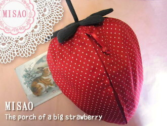 Strawberry porch /L size (travel size) strawberry, strawberry 1002P04Aug13