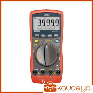 A&D デジタルマルチメーター高分解能、高機能形温度測定 AD5517 8503