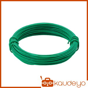 TRUSCO カラー針金 小巻タイプ・18番手 緑 線径1.2mm TCWS12GN 3100