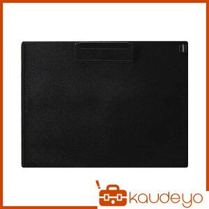 OP クリップボード A4S 黒 CB201BK 1213