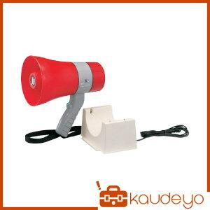 ユニペックス 充電式防滴形メガホン 6W サイレン付 TR215CS 8784