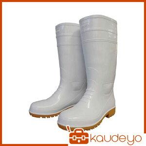 福山ゴム 耐油長靴先芯入り ガロア#1ホワイト3L GLA13LH 6089