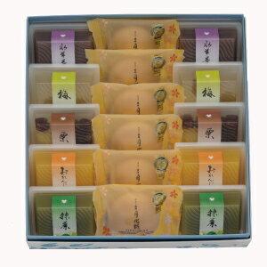 涼菓撰(水羊羹10・月化粧6)