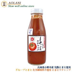 グループとまと トマトケチャップ 380g 兵庫県小野市産 化学調味料不使用