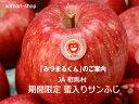 JA相馬村【みつまるくん】蜜入りサンふじ5kg(18-20玉)※ご用意が出来次第の発送