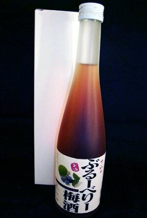 鳩正宗【十和田ぶるーべりー梅酒】500ml(白箱入)※これはお酒です