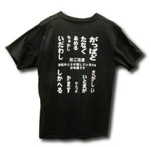 【津軽弁Tシャツ(大人用)】後