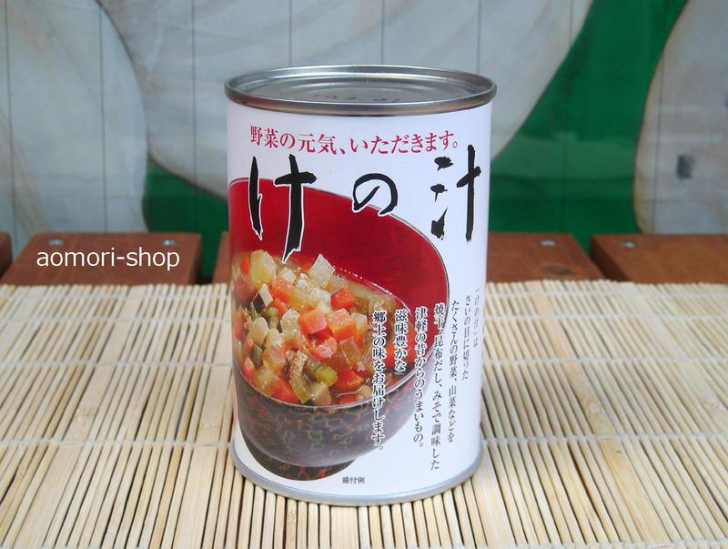 三浦醸造【けの汁缶】425g(2-2.5人前)