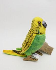 【再入荷しました】グリーンセキセイインコ21cmHANSA BUDGERIGAR GREEN小鳥のぬいぐるみ【楽ギフ_包装】【楽ギフ_メッセ入力】【メッセージカード無料】【RCP】【5002014】
