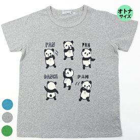 【春夏】レディース/SS~M/オトナサイズ/ティーンズサイズ/CROWNBANBY半袖/Tシャツ/パンダンス/クラウンバンビ
