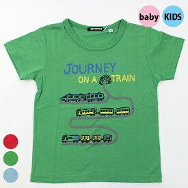 【春夏】ボーイズ/80cm~135cm/キッズサイズ/ZIPWORKS半袖/Tシャツ/電車旅行/ジップワークス