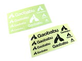 ガオバブ(Gaobabu)☆Gaobabuステッカー(切り抜き8種タイプ)ブラック