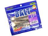 """マルキユーECOGEAR☆バルト(BALT)3.5""""115:パール/スモークシルバーGlt.バック"""
