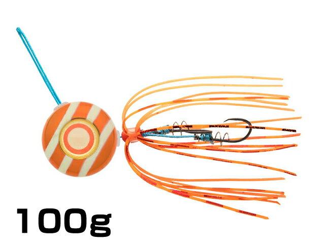 【あす楽対応】マルキユーECOGEAR☆TGアクラバヘッド クワセ 100g AH06:オレンジメタルグロウストライプ【ネコポスだと送料190円 1万円以上送料無料(北・沖 除く)】