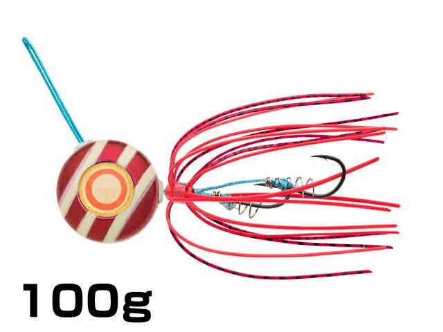 【あす楽対応】マルキユーECOGEAR☆TGアクラバヘッド クワセ 100g AH07:レッドメタルグロウストライプ【ネコポスだと送料190円 1万円以上送料無料(北・沖 除く)】