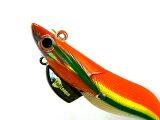 マルキユーFishLeague☆エギリーダートマックスTR(EGILEEDARTMAX)3.5号40g-BKTR16:グリーンストライプゴールドオレンジ
