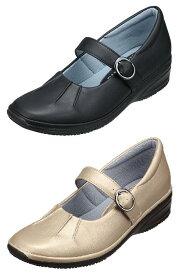 パンジー 靴 シューズ送料無料婦人用 カジュアルシューズPansy レディース足にフィットして歩きやすいストラップ付き4545