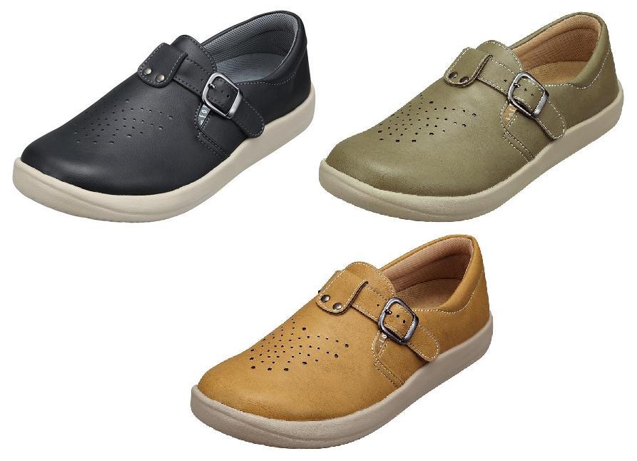 パンジー 靴 シューズ送料無料婦人用 カジュアルシューズPansy レディース幅広の4E設計ゆったり