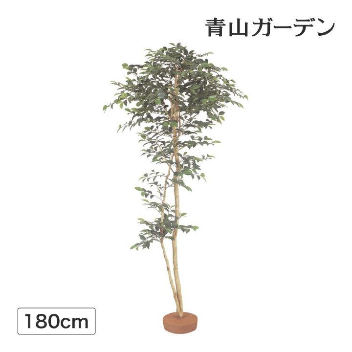 人工植物 造花/サザンカ 鉢無 1.8m /GD-135/フェイクグリーン/ディスプレイ/飾り/梱包サイズ大