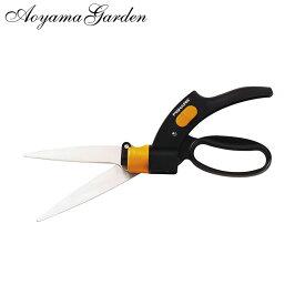 FISKARS フィスカース 鋏 ハサミ 庭 剪定 芝刈り タカショー / 芝用ハンドはさみ回転刃 /A