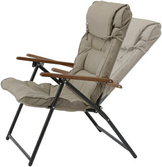 ガーデンチェアースチール製/キャリーリクライニングシングルローソファ/IGF-09C/ソファー/セット/折りたたみ/おしゃれ/庭/椅子/B