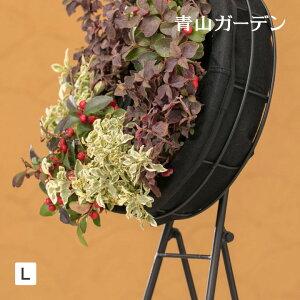 ハンギング リース 鉢 プランター 寄せ植え ガーデニング タカショー / フェルト ハンギングリースL /A