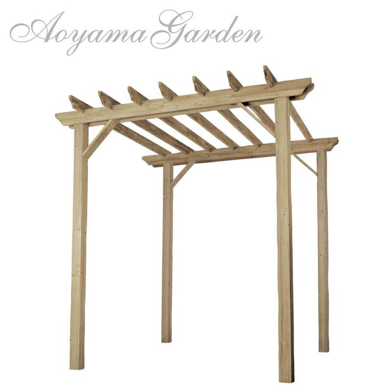 パーゴラ 木製/e-ウッド パーゴラ EUPA-3/ガーデンアーチ/DIY/藤棚/バラ/誘引/ガーデニング/タカショー/大型商品のため日時指定不可