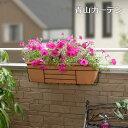 ハンギング 壁掛け 寄せ植え 菜園 タカショー / ウィンドウボックスホルダー 650 バイス式 ブラック /A