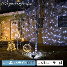 20%OFF /イルミネーション 屋外 LED ライト クリスマス 電飾 タカショー / ローボルト ガーデンモーションプロジェクター スノー /A
