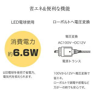 【予約受付中・9月18日以降順次発送】イルミネーションガーデンライト/ローボルトガーデンモーションプロジェクターカセットタイプ/LGL-PR03/梱包サイズ小