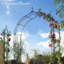 ガーデンアーチ バラ/プライムアーチ IGF-AR01 /ローズ/つる/クレマチス/アイアン/園芸用/ガーデニング/庭