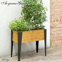鉢 プランター ベジトラグ 菜園 スタンド 木製 ガーデニング タカショー / レイズドミディアムプランター /A