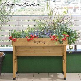 鉢 プランター ベジトラグ 菜園 スタンド 木製 ガーデニング タカショー / ホームベジトラグ ウォールハガー S /A
