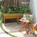 鉢 プランター ベジトラグ 菜園 スタンド 木製 ガーデニング タカショー / ホームベジトラグ ウォールハガー L /C