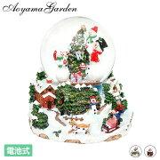 クリスマス飾りギフトプレゼント装飾室内アンティーク置き物デコレーション/スノードームライトツリーギフト/A
