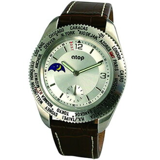 atop ワールドタイムウォッチ WORLD TIME WATCH ( owned) Watch fs3gm