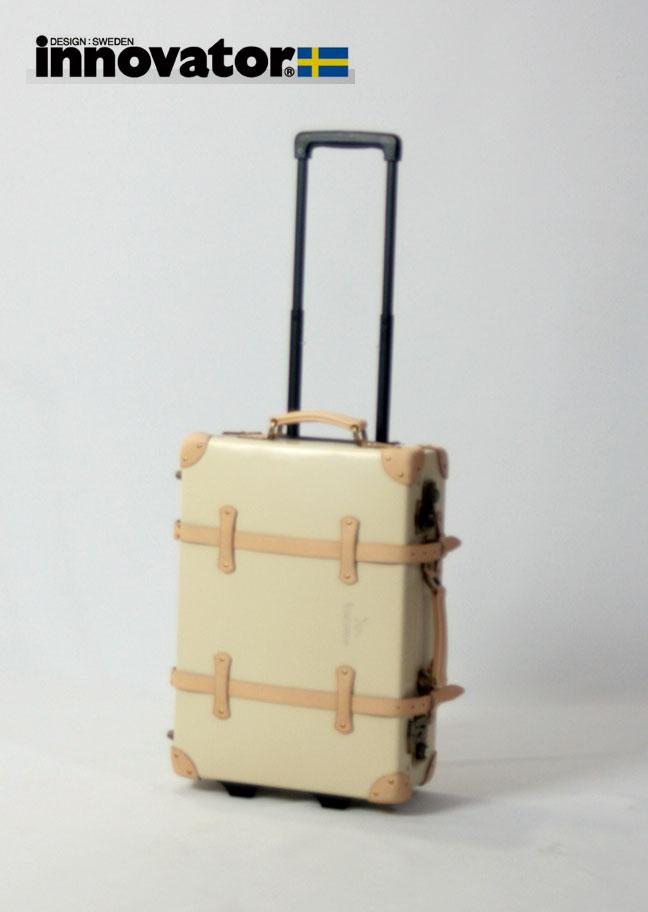[スマホエントリーでポイント最大14倍]イノベーター innovator ヴィンテージトランク 50cm(ベージュ) スーツケース・キャリーバッグ(キャリーケース) 【2年保証】