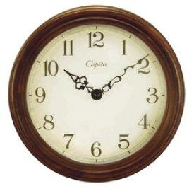 Capito (カピート)アンティーク木製 掛け時計 Antique Wooden Wall Clock Brown ブラウン 掛時計(掛け時計) 送料無料 キャッシュレス5%ポイント還元