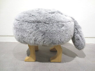 ANIMAL STOOL animals tool S in Fox gray Chair made in Japan JTK-H-003-S  Japan  Chair  dining chair